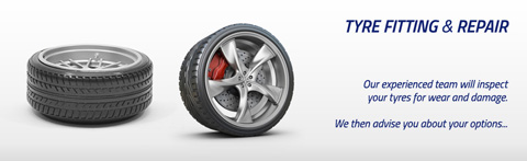 Complete tyre fitting and repair service