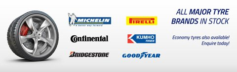All major brands in stock